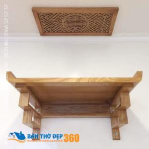 Địa chỉ bán bàn thờ treo tường gỗ sồi Uy Tín – Giá Rẻ