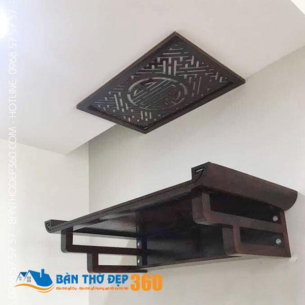 Địa chỉ bán bàn thờ treo tường gỗ sồi Uy Tín - Giá Rẻ