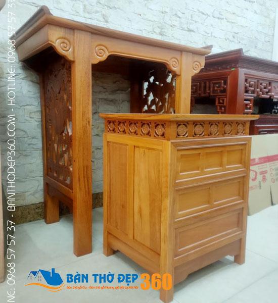 Bàn thờ đứng đẹp - Các mẫu bàn thờ đẹp nhất Hà Nội