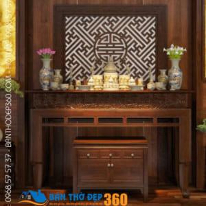 Địa chỉ bán bàn thờ đứng gỗ mít uy tín tại Hà Nội