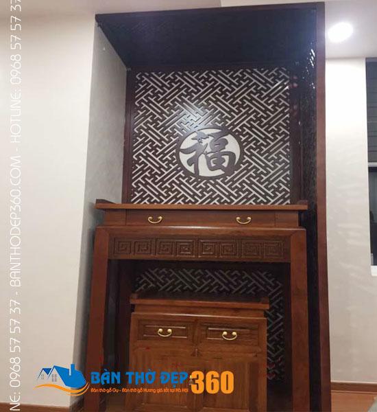 Cửa hàng bàn thờ đứng hiện đại đẹp hợp Phong Thủy