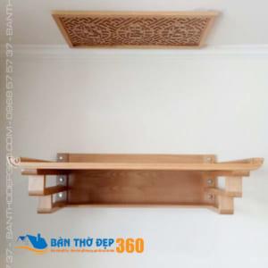 Bàn thờ treo tường bằng gỗ Đẹp Giá Rẻ tại Hà Nội