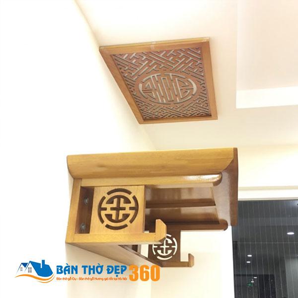 Bàn thờ treo tường chung cư Hà Nội đẹp nhất hiện nay!