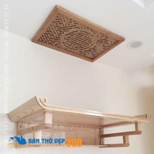 Bàn thờ treo tường giá rẻ nhất, đẹp nhất tại Hà Nội