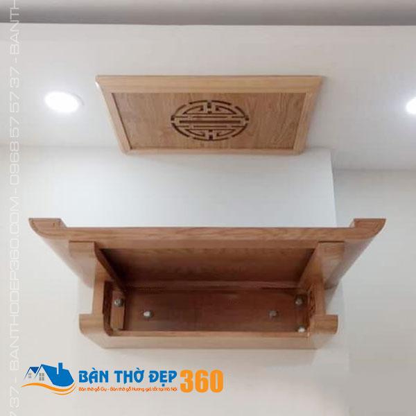 Bàn thờ treo tường giá rẻ uy tín, chất lượng nhất tại Hà Nội