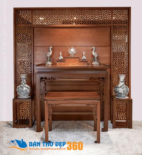 100+ mẫu bàn thờ tủ đứng Đẹp - Hiện đại - Hợp phong thủy 2020