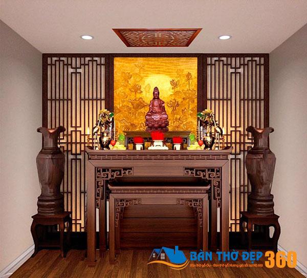 50+ mẫu bàn thờ, tủ thờ Đẹp - Hiện đại - Hợp phong thủy 2021
