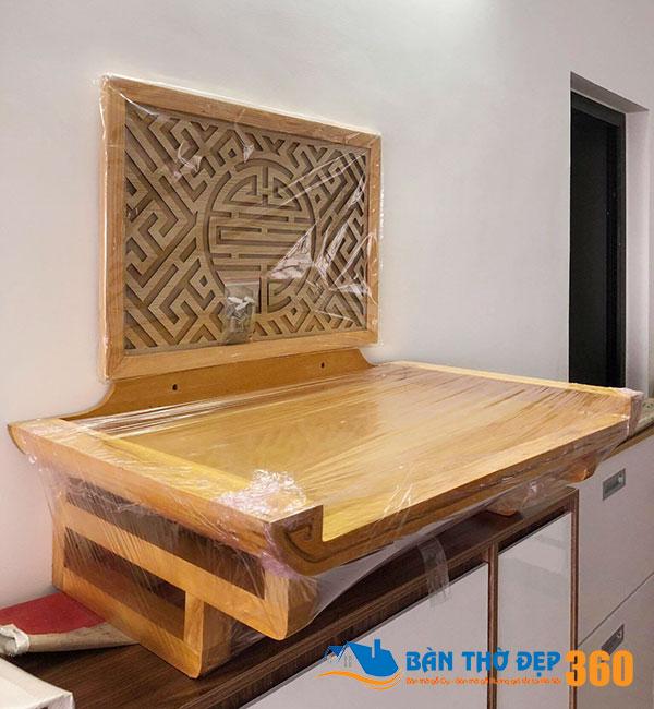 Địa chỉ bán bàn thờ chung cư hiện đại, chuẩn kích thước lỗ ban tài lộc