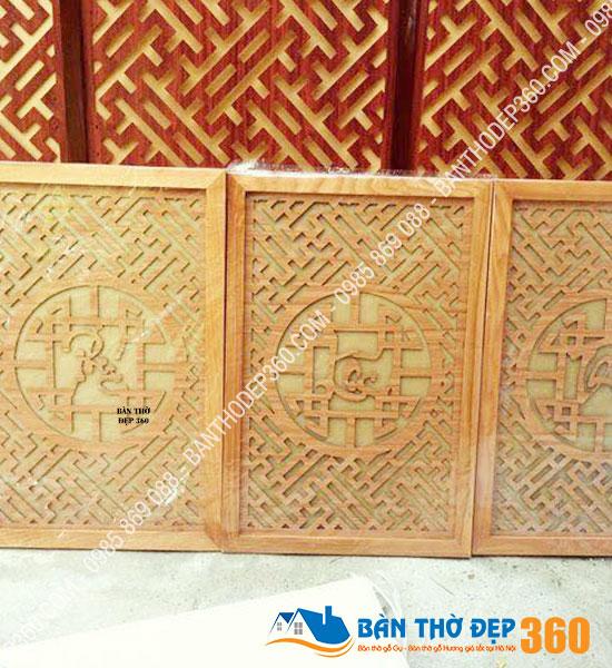 Địa chỉ bán Tấm chống ám khói kích thước 41×123 cm Vàng Sồi
