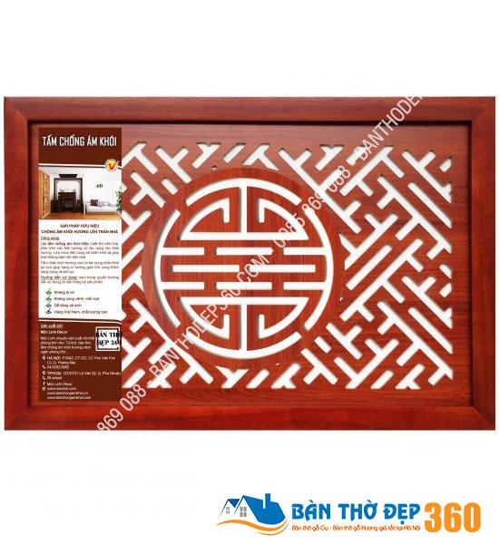 Tấm chống ám khói 41x61cm chữ THỌ màu nâu chất lượng giá rẻ