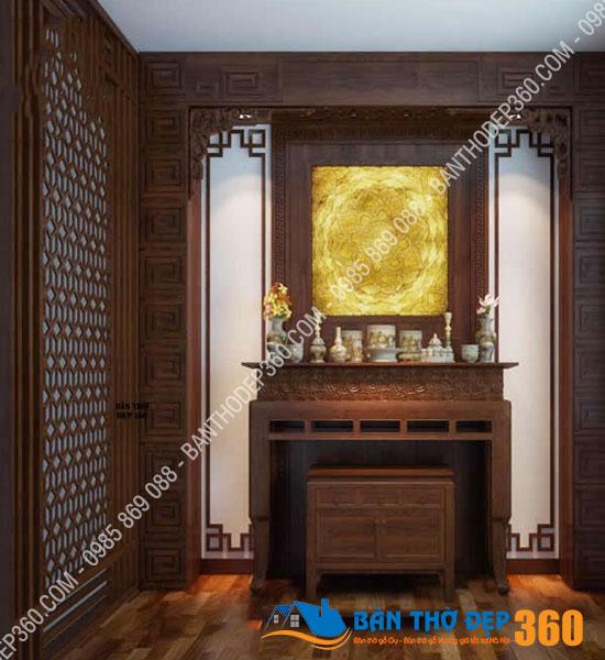 vach ngan cnc phong tho a13 - Top các mẫu Bàn thờ đứng Gỗ Hương đẹp, hiện đại bán chạy nhất hiện nay!