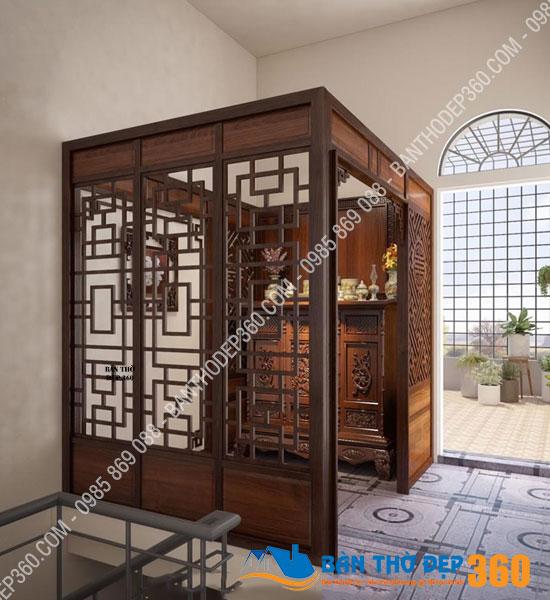 vach ngan cnc phong tho a27 - 86+ Mẫu bàn thờ tại Bến Tre đẹp nhất, bàn thờ gia tiên chuẩn phong thủy