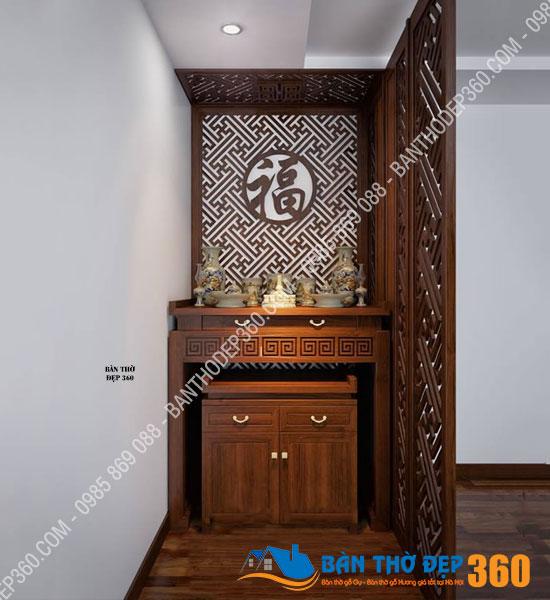 vach ngan cnc phong tho a31 - Cung Cấp Bàn Thờ treo tường, bàn thờ đứng giá rẻ, đẹp hiện đại tại Hải Phòng