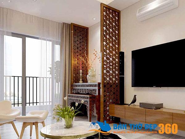 Mẫu bàn thờ gỗ đẹp có sẵn tại Bình Định
