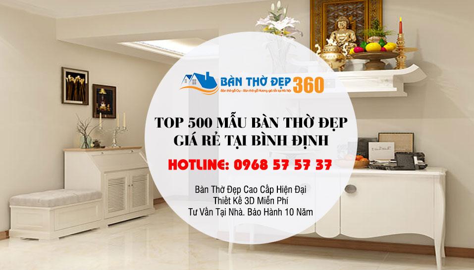 Địa chỉ mua bàn thờ tại Bình Định đẹp, chất lượng, giá tốt