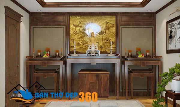 50 mẫu bàn thờ treo tường hiện đại tại Bình Phước đẹp nhất 2020