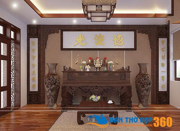 50 mẫu bàn thờ treo tường hiện đại Đồng Tháp đẹp nhất 2020