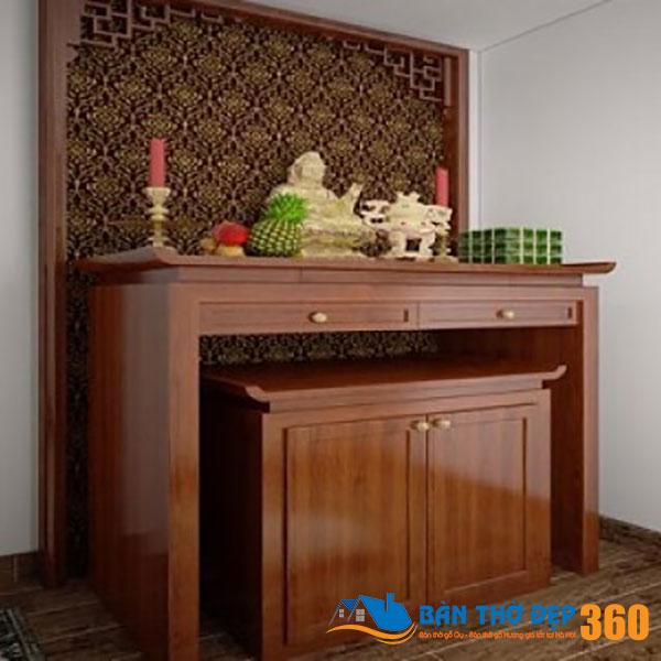 86+ Mẫu bàn thờ tại Bến Tre đẹp nhất, bàn thờ gia tiên chuẩn phong thủy