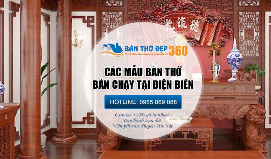 Bàn thờ ở Điện Biên | Địa chỉ cung cấp đồ thờ cúng uy tín số 1