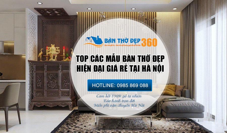 Địa chỉ bán bàn thờ tại Hà Nội Uy Tín – Chất lượng – Giá Rẻ