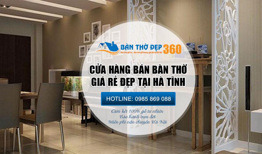 Địa chỉ bán bàn thờ chung cư giá rẻ tại Hà Tĩnh Uy Tín