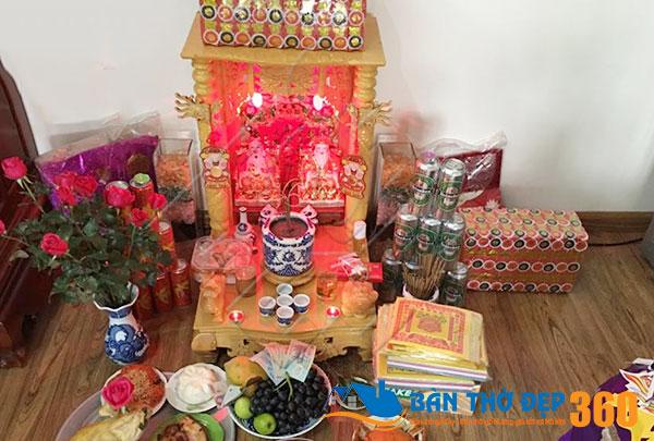 Hướng dẫn chọn hướng đặt bàn thờ thần tài trong nhà chung cư