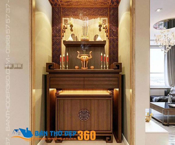Địa chỉ bán bàn thờ treo tường, tủ thờ Hòa Bình đẹp giá tốt nhất!