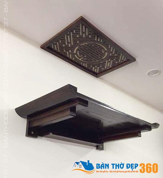 Địa chỉ bán bàn thờ treo tường, tủ thờ gỗ uy tín tại Khánh Hòa