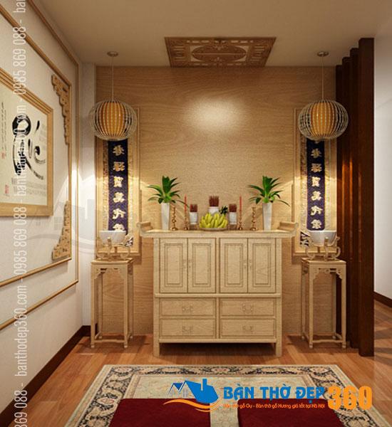 Thiết kế xem mẫu phòng thờ đẹp, giá rẻ tại Quận Tân Bình