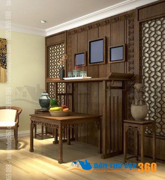 Thiết kế bàn thờ chung cư Quận Tân Phú giá rẻ