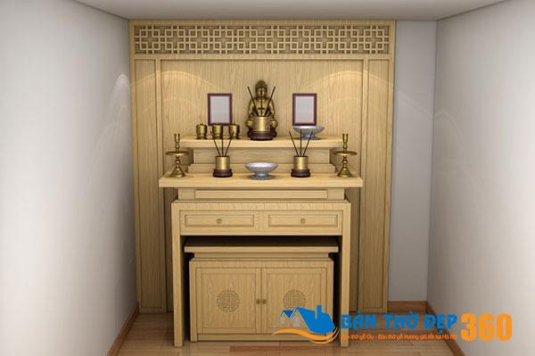 Top 98 mẫu bàn thờ chung cư, bàn thờ đứng đẹp tại Nghệ An