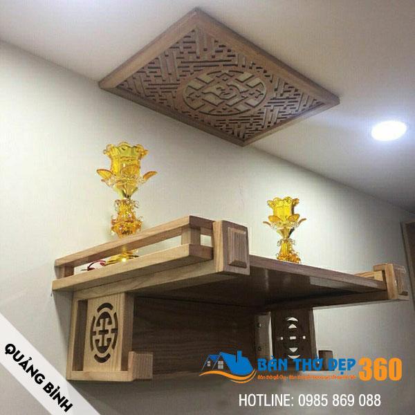 Cửa hàng bán bàn thờ tại Quảng Bình giá rẻ, đẹp, hiện đại!