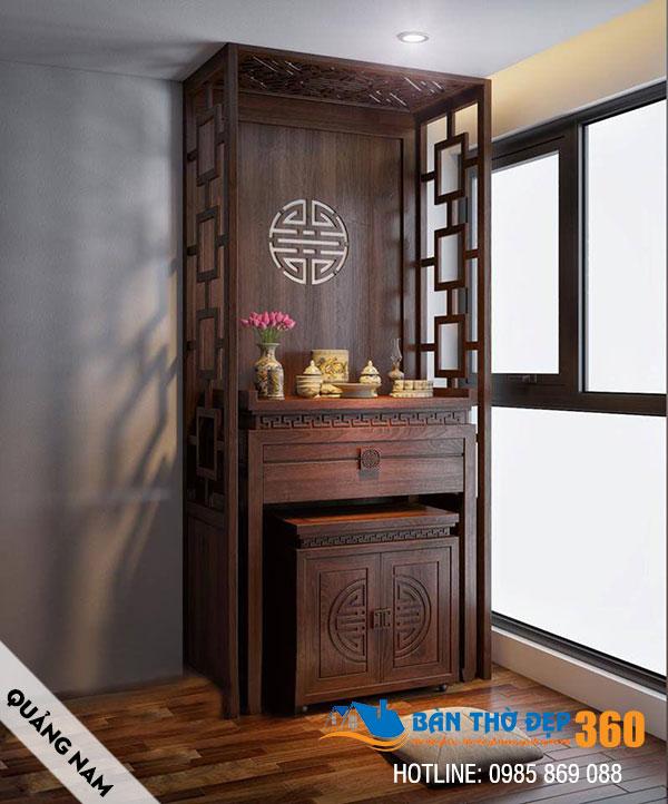 Địa chỉ sản xuất bàn thờ, sập thở, tủ thờ đẹp tại Quảng Nam