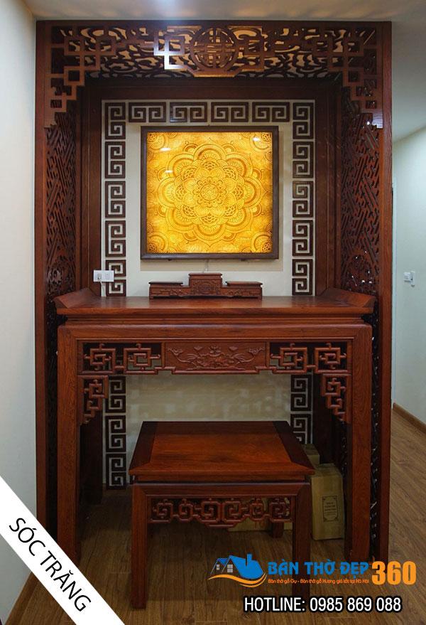 79+ Mẫu bàn thờ tại Quảng Trị đẹp nhất, bàn thờ gia tiên chuẩn phong thủy