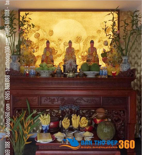 Địa chỉ bán bàn thờ tại Lào Cai đẹp chất lượng giá rẻ nhất hiện nay!
