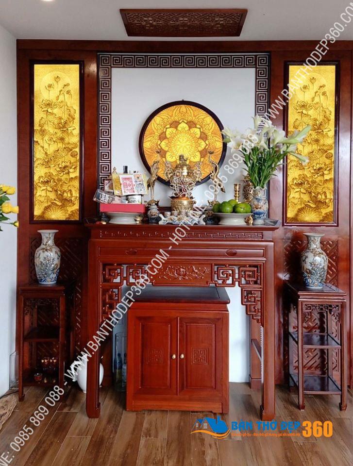 Địa chỉ chuyên cung cấp các mẫu bàn thờ, sập thờ tại Sơn La