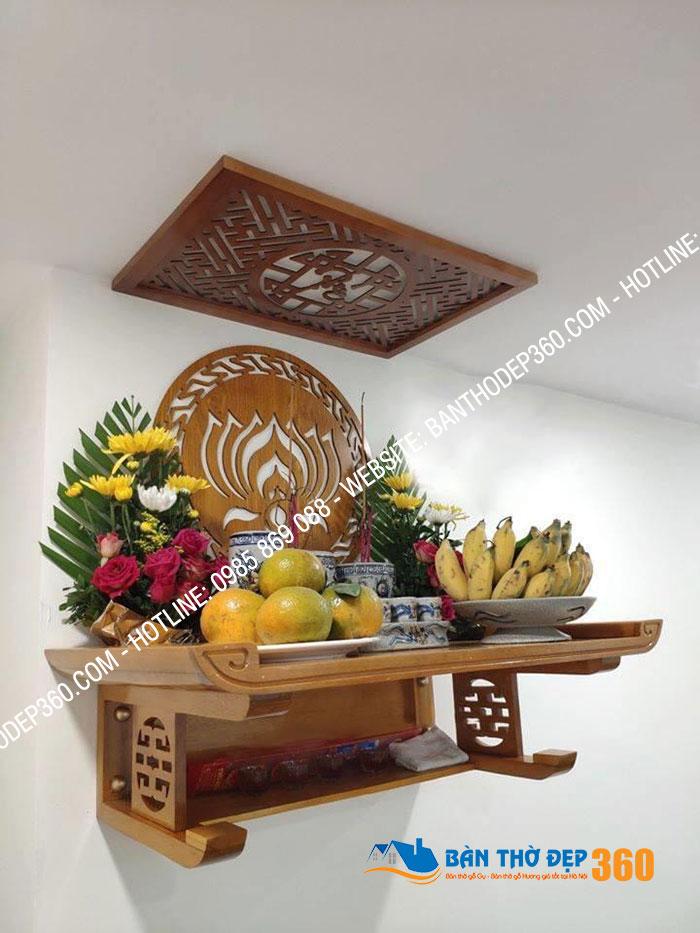 +45 Mẫu bàn thờ đẹp thiết kế hiện đại năm 2020