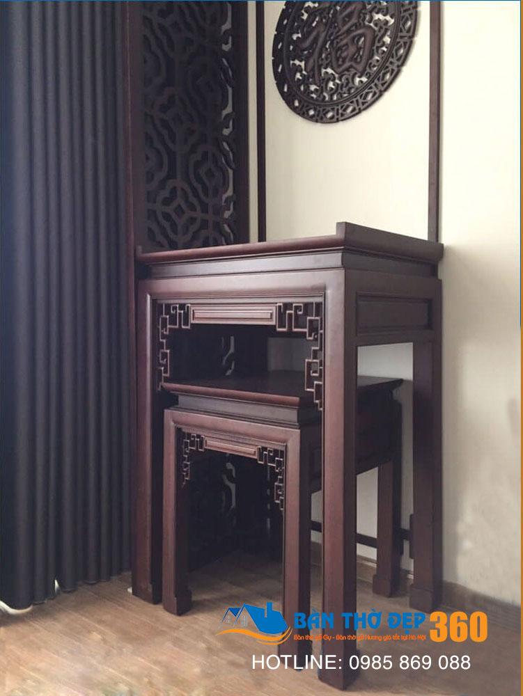Top các mẫu bàn thờ, sập thờ đẹp tại Thái Bình hiên nay!