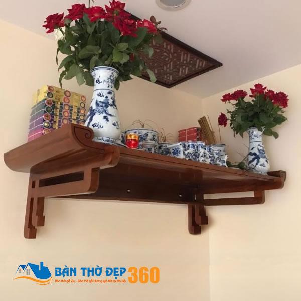 Top 10 mẫu bàn thờ treo tường bằng gỗ bán chạy nhất