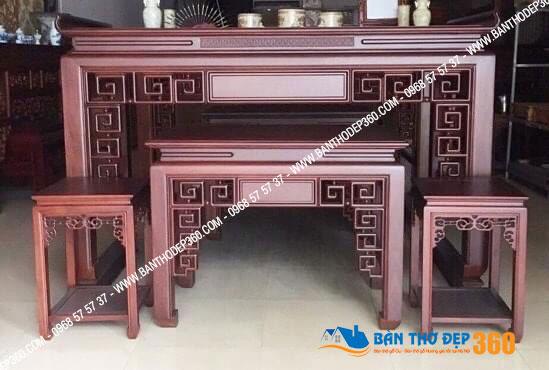 Mẫu bàn thờ đứng hiện đại đơn giản giá rẻ nhất tại Hà Nội