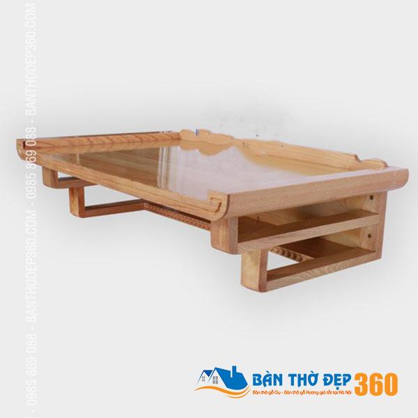300+ Mẫu Bàn Thờ Treo Tường gỗ sồi Hiện Đại Đẹp 2020