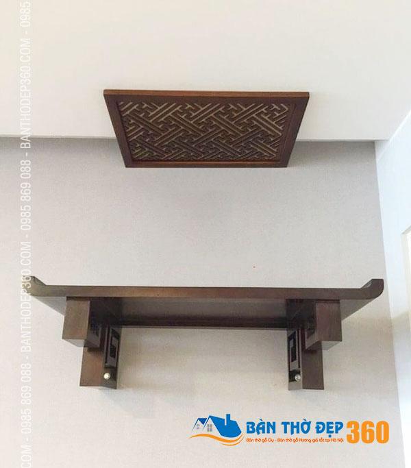 Mẫu ban thờ treo hiện đại và truyền thống phù hợp cho căn nhà bạn