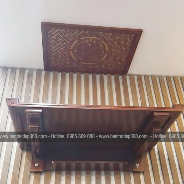 Cách chọn kích thước bàn thờ treo tường chuẩn phong thủy