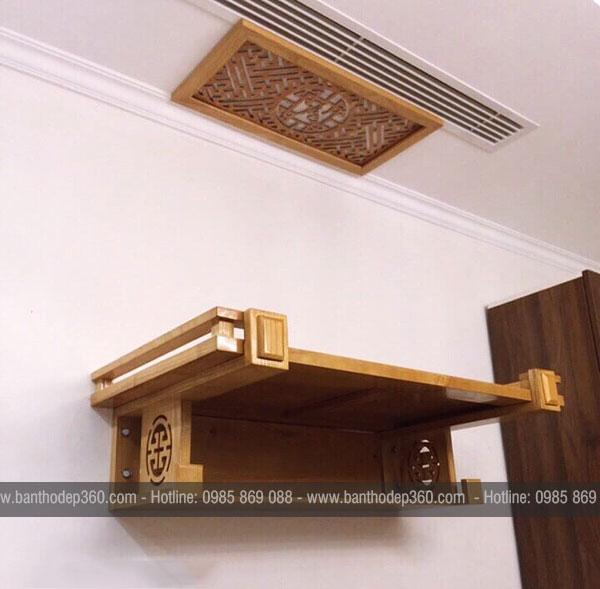 [Xem ngay] Kích thước bàn thờ tổ tiên theo phong thủy chuẩn