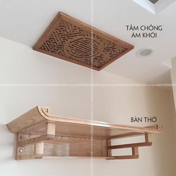 Các mẫu bố trí bàn thờ kích thước chuẩn cho nhà chung cư