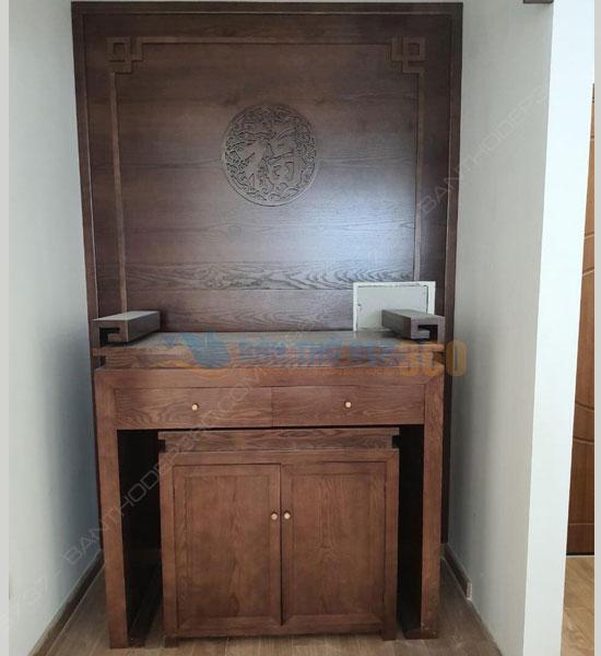 Kích thước bàn thờ chuẩn lỗ ban hợp phong thủy tại Huyện Nhà Bè