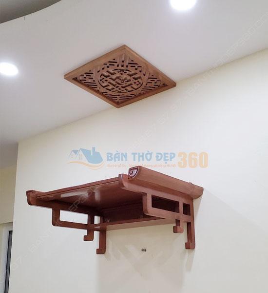 Mẫu bàn thờ treo chung cư đẹp – Bàn Thờ Treo Tường Năm 2021