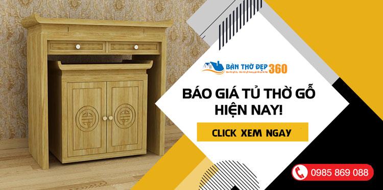 Giá tủ thờ gỗ Gia tiên Đẹp Giá Rẻ Tại Hà Nội bạn cần biết!