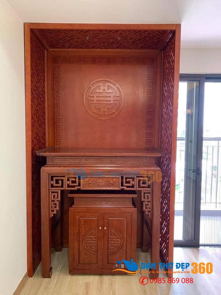 HOT 57+Mẫu bàn thờ nhà chung cư Siêu Đẹp, Siêu Gọn