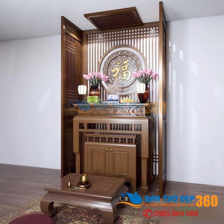 Mẫu bàn thờ chung cư, tủ thờ chung cư